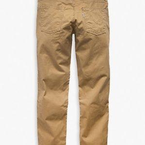 Levi's 511 slim fit khakis